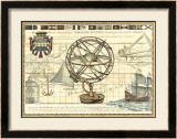 Nautical Map I Poster