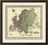 Europe, c.1823 Framed Giclee Print by Henry S. Tanner