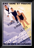 Extension de Ciboure Framed Giclee Print by Francis Bernard
