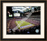 Lucas Oil Stadium, Framed Photographic Print