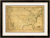 United States, c.1830 Framed Giclee Print by Maria Symonds