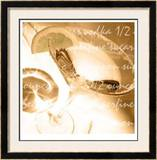 Lemon Drop Martini Limited Edition Framed Print by  Peterson