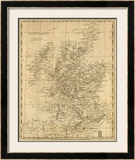 Scotland, c.1812 Framed Giclee Print by Aaron Arrowsmith