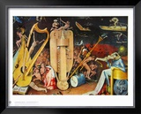 The Musician S Hell Posters by Hieronymus Bosch