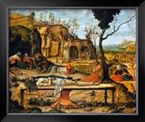 Lamentations sur le Christ Mort Prints by Vittore Carpaccio