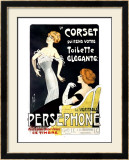 Persephone Corset Framed Giclee Print by  Misti