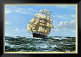 Racing Home, The Cutty Sark Prints by Montague Dawson