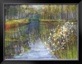 Spring Reflections II Limited Edition Framed Print by Carol Buettner