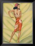 Graceful Dancer Framed Giclee Print by  Gill