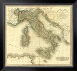 Italy, c.1799 Framed Giclee Print by John Cary
