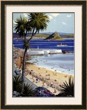 Penzance Framed Giclee Print by Harry Riley