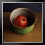 Green Bowl II Poster by  Van Riswick