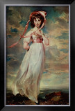 Pinkie, Sarah Barrett Moulton, 1794 Poster by Thomas Lawrence