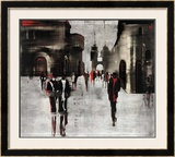City Scene II Prints by Elena Radzetska