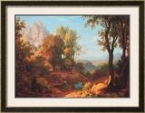 Midday, 1829 Prints by Johann Martin Von Rohden