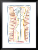 Standing Female Nude II, c.1946 Art by Pablo Picasso