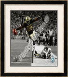 Reggie Bush Framed Photographic Print