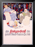 Festgeschenk Framed Giclee Print by Burkhard Mangold
