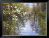 Spring Reflections I Limited Edition Framed Print by Carol Buettner