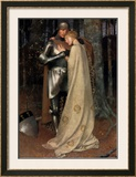 Aucassin and Nicolette Prints by Marianne Stokes