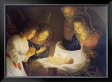 The Nativity Print by Gerrit van Honthorst