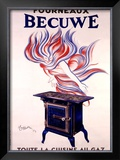Fourneaux Becuwe Framed Giclee Print by Leonetto Cappiello