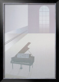 Wallspace with Piano, 1984 Poster by Perry King