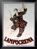 Lampocrema Framed Giclee Print by Leonetto Cappiello