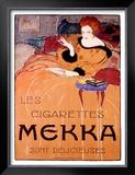 Cigarettes Mekka Framed Giclee Print by Charles Loupot