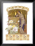 Four Seasons, Autumn Framed Giclee Print by Elisabeth Sonrel