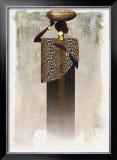 Worldly Woman I Prints by Teresa Joseph