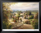 Balcony Paradiso II Limited Edition Framed Print by Roberto Lombardi