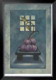 Pedestal Plum Limited Edition Framed Print