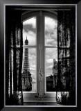 Fenêtre sur Paris Prints by Mauricio Hellerdani