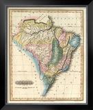 Brazil, c.1823 Framed Giclee Print by Fielding Lucas