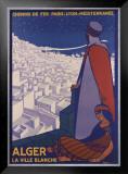 Alger Framed Giclee Print by Roger Broders