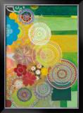 Lace Curve Poster by Jeanne Wassenaar