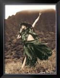 Primitive Hula, Hula Girl Prints by Alan Houghton