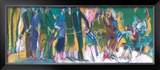 The Celebration in the Park Print by Marie Versailles