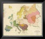 Ethnographic, Europe, c.1856 Framed Giclee Print by Gustaf Kombst