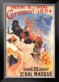 Carnivale Print by Jules Chéret