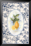 Lemon Toile Prints by Sarah Elizabeth Chilton