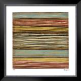 Seaside Stripes I Limited Edition Framed Print by Susan Hayes