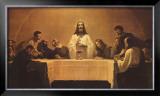 The Last Supper Prints by Gebhard Fugel