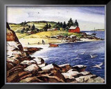 Inland Cove Prints by Henry Gasser