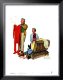 Chilly Reception Prints by Norman Rockwell