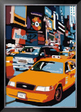Taxi, New York Prints by Giovanni Manzo