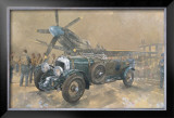 Bentley and Spitfire Art by Peter Miller
