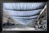 Over the River, Project for Colorado, From Below Art by  Christo