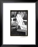Seating For Two Prints by Laura Denardo